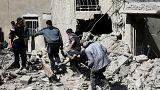 أكثر من 400 قتيل في غوطة دمشق وروسيا تعارض في مجلس الأمن هدنة إنسانية