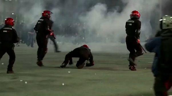 La UEFA lamenta la muerte de un policía en Bilbao