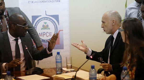 Felfüggesztették az Oxfam működési engedélyét Haitin