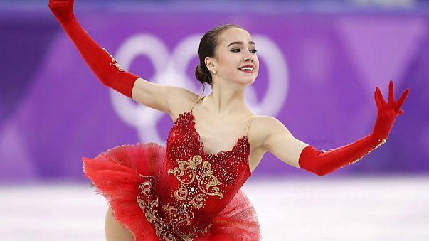 Первое золото для России