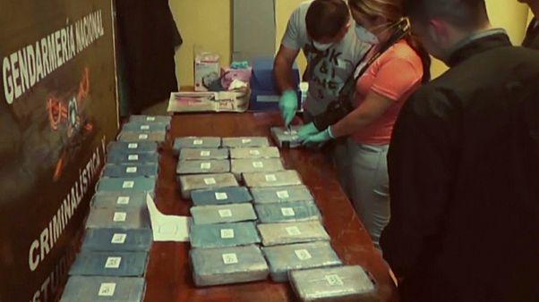 کشف ۳۸۹ کیلو کوکائین در سفارت روسیه در آرژانتین