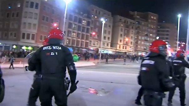 Match Moscou-Bilbao : émeute des ultras russes, mort d'un policier