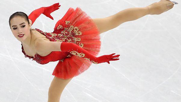 Alina Zagitova (15): Erstes Gold für Russland