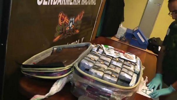 Argentina: 400 kg di cocaina sequestrati nell'ambasciata russa