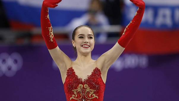 Pyeong Chang Kış Oyunları: Artistik Patinaj'da Rusya'dan 2 dünya rekoru