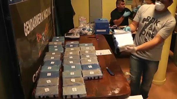 """Orosz """"diplomata"""" drogbandát kapcsoltak le Argentínában"""
