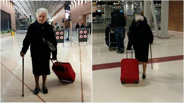 A 93 ans, elle part faire de l'humanitaire