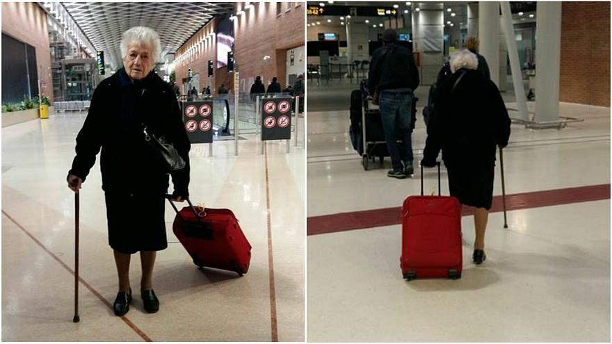 Italie : A 93 ans, elle part faire de l'humanitaire