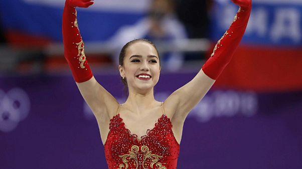 Alina Zagitova dá o primeiro ouro à Rússia