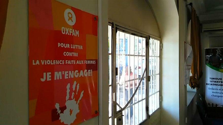 OXFAM на Гаити больше не работает