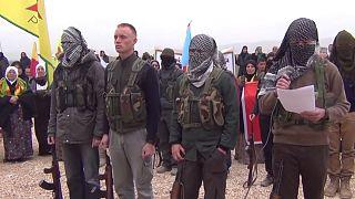 نیروهای داوطلب عضو گروه شبه نظامی کُرد «ی پ گ»