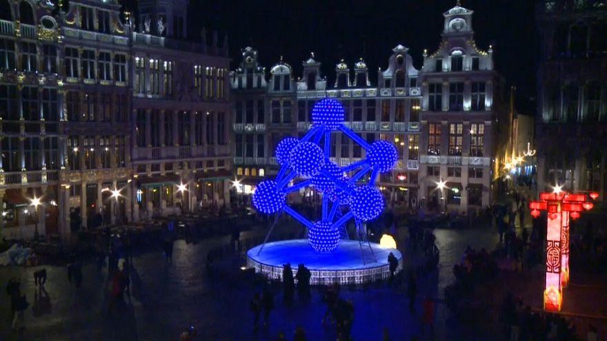Spektakuläre Laternenausstellung in Brüssel