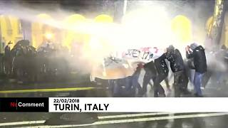 Беспорядки в Турине