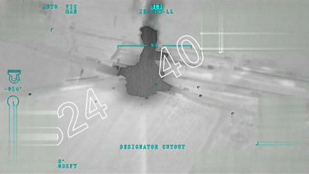 Turkish airstrike on Afrin, north-eastern Syria