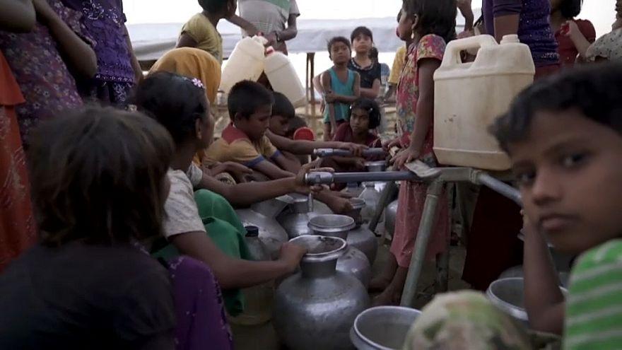 يونيسيف تحذر من خطورة وضع مئات الآلاف من أطفال الروهينغا المسلمين