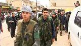 Síria: Curdos reforçam posições em Afrin