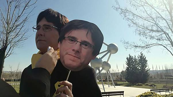 Joaquin Reyes dressed as Carles Puigdemont