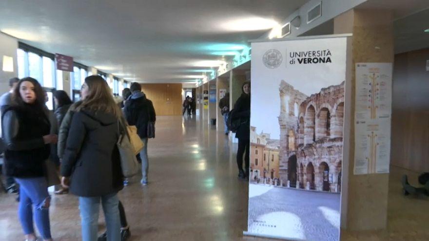 È iniziato l'Erasmus a Verona di Miguel, 81 anni
