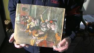 Un tableau de Degas volé en 2009 retrouvé... dans un autocar