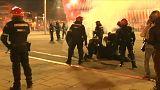 Condena unánime de la violencia en el fútbol tras la muerte de un ertzaina en Bilbao