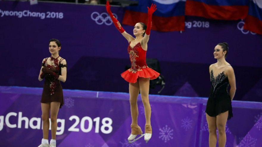 La rusa Alina Zagitova nueva reina del patinaje con 15 años