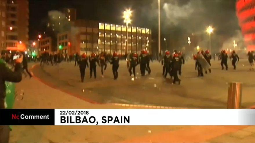Toter bei Auseinandersetzungen in Spanien