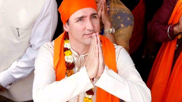 Trudeau-Familie: bunter Staatsbesuch in Indien