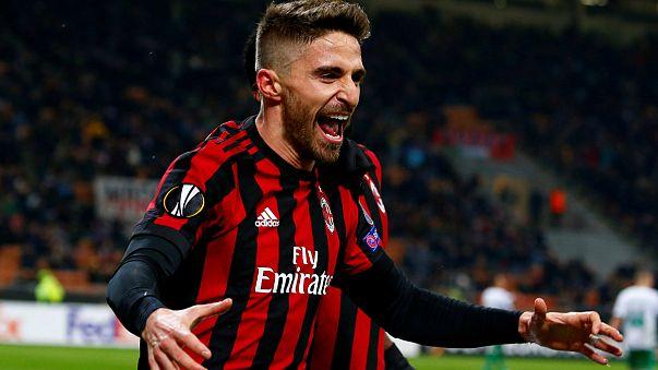 Milan-Arsenal rangadó az Európa Ligában