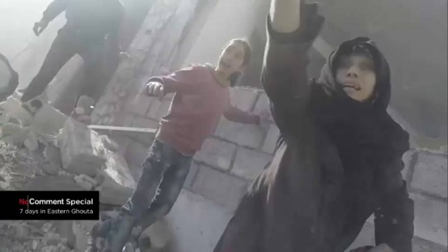 No Comment: 'No words to describe children's suffering' in Syria