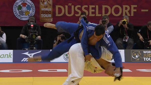 Judo Grand Slam Düsseldorf 2018: Erster Wettkampftag