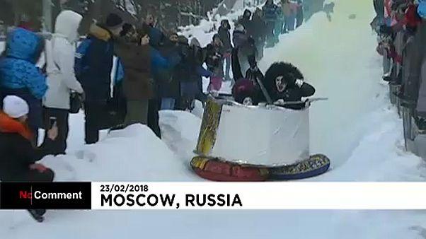 Szánkók harca Moszkvában