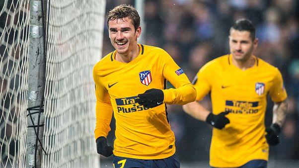 Atlético-Lokomotiv y Athletic-Marsella en dieciseisavos de la Liga Europa