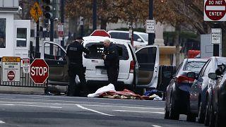 Περίεργο περιστατικό έξω από τον Λευκό Οίκο