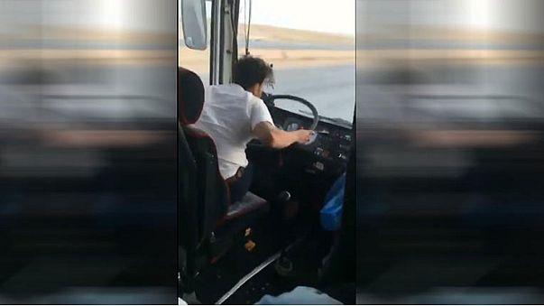 السعودية: السائق ذو التصرفات الغريبة في قبضة الشرطة