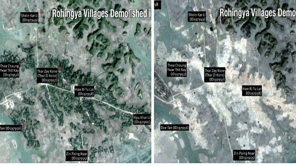 میانمار با نابودی روستاها شواهد پاکسازی قومی مسلمانان روهینگیا را از بین میبرد