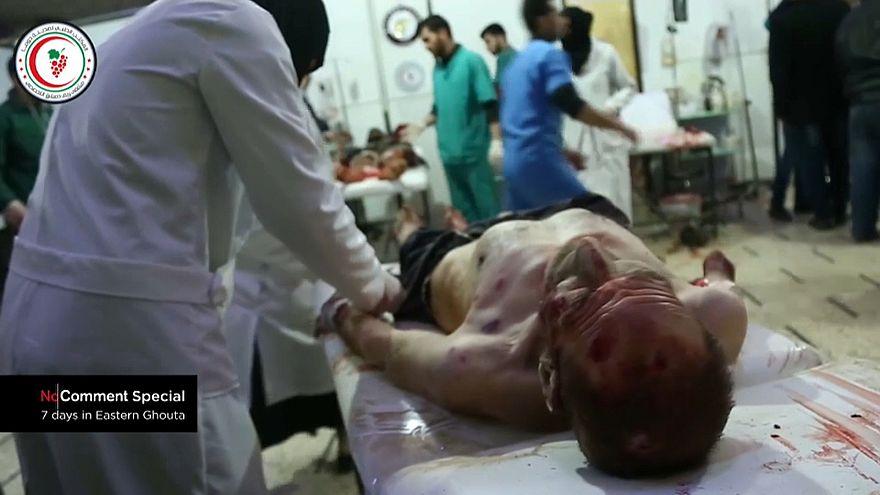 Ghouta, Inferno na Terra