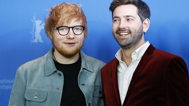 El cantante Ed Sheeran, estrella de la Berlinale