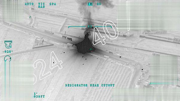 ویدئوی ارتش ترکیه از «انهدام کاروان مهمات و تسلیحات» در عفرین
