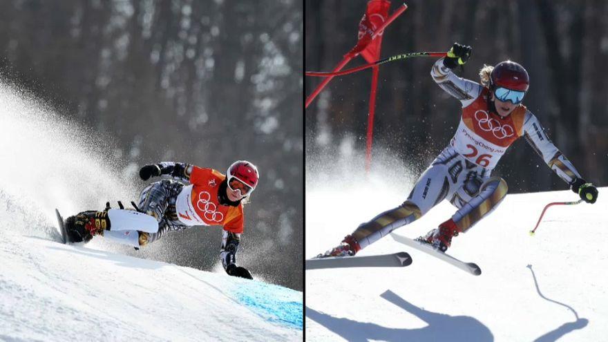 Winter Olympics: 22-year-old Czech, Ester Ledecka wins Winter Olympics double gold