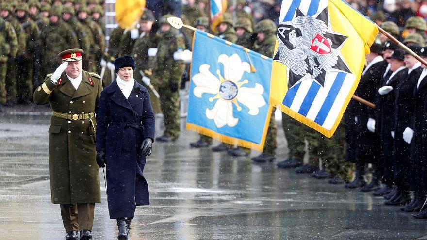 Estónia festeja 100 anos de independência