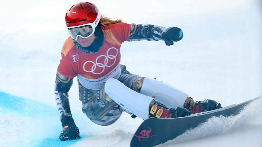 Ester Ledecka faz história em Pyeongchang