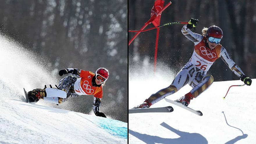 """Nach Super G das Snowboard: Doppel-Gold für """"Schneekönigin"""" Ledecká"""