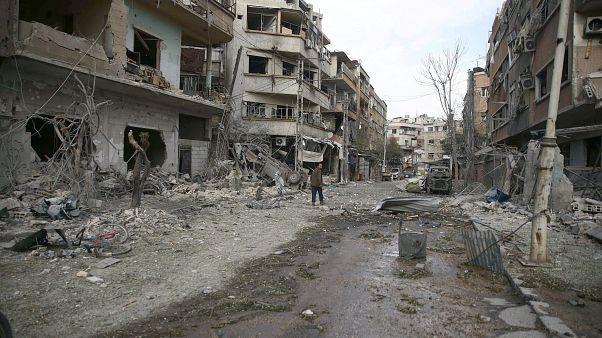 Siria: almeno 500 civili morti nei bombardamenti a Ghouta Est