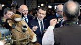 Emmanuel Macron, abucheado en el Salón de la Agricultura