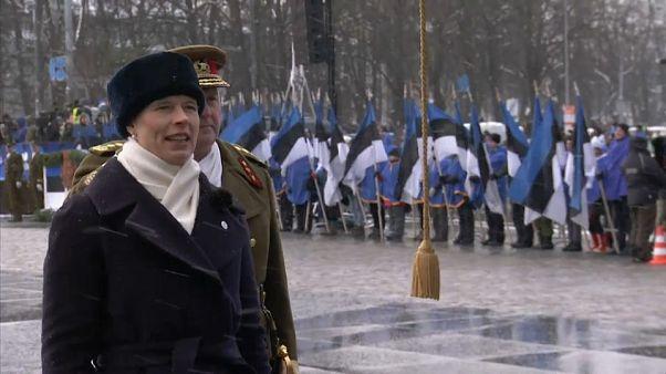 Estonya bağımsızlığının 100. yılını kutluyor
