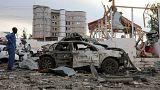 Δεκάδες θύματα από την διπλή βομβιστική επίθεση στην Μογκαντίσου