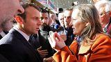 Γαλλία: Αγρότες αποδοκίμασαν τον Μακρόν