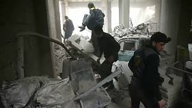 Syria: At least 500 civilians have been killed during a week of bombing raids in the besieged enclave of Eastern Ghouta