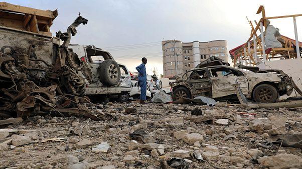 Теракт в Могадишо: десятки жертв