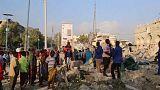 Aumentan los fallecidos en los atentados de Somalia